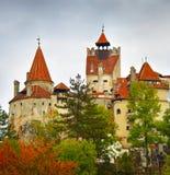 Dracula kasztel, Rumunia obrazy royalty free