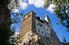 Dracula kasztel w otręby, Rumunia zdjęcie stock