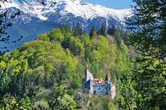 Dracula kasztel w otręby, Transylvania, Brasov, Rumunia fotografia royalty free