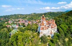 Dracula kasztel w otręby - Transylvania, Rumunia obraz royalty free