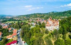 Dracula kasztel w otręby - Transylvania, Rumunia zdjęcie stock