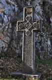 Dracula kasztelu krzyż obraz royalty free