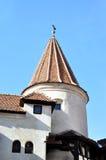 dracula kasztelu wierza zdjęcie stock