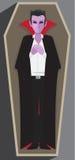 Dracula kista Royaltyfria Bilder