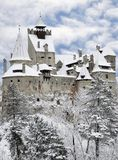 Dracula Otręby Kasztel, Transylvania, Rumunia zdjęcia royalty free