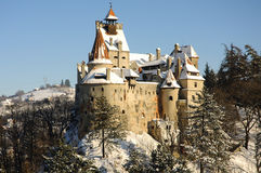 Draculas Bran Castle Royalty Free Stock Images