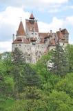 Dracula's Bran Castle portrait view Royalty Free Stock Photos