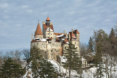 Dracula's Bran Castle Royalty Free Stock Photo