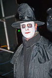 Dracula's brother ?. Character taking part in the Halloween event held at Ness Islands on 26th and 27th October 2012 organised by Highland Council lighting Stock Photo