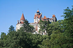 Dracula's castle Stock Image