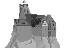 Dracula's castle Royalty Free Stock Photos