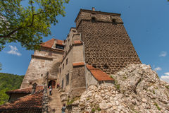 Dracula's castle Royalty Free Stock Images