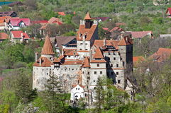 Dracula's castle in Bran, Transylvania, Brasov, Romania Royalty Free Stock Image
