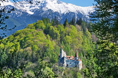Dracula's castle in Bran, Transylvania, Brasov, Romania Royalty Free Stock Photography