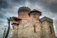 Dracula's castle in Bucharest, Romania Stock Photo