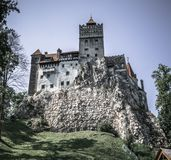 Dracula`s castle isn`t so scary in the summer. royalty free stock image