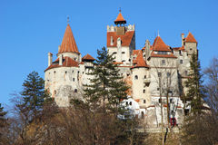 Dracula's castle Royalty Free Stock Photo