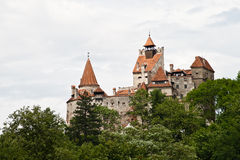 Dracula's Castle from Transylvania Stock Photos