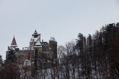 Dracula's Castle in Transylvania Royalty Free Stock Image