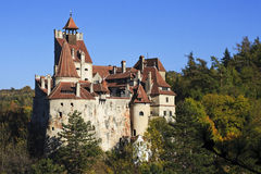 Dracula`s castle in Transylvania Royalty Free Stock Photography