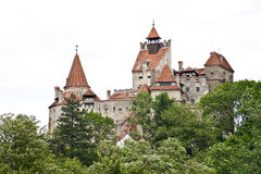 Dracula's Castle from Transylvania Royalty Free Stock Photo