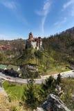 Dracula` s kasteel Stock Foto's