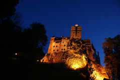 DRACULA S SLOTT - slottkli Törzburg Fotografering för Bildbyråer