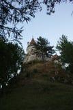 DRACULA S SLOTT - slottkli Törzburg Royaltyfri Bild
