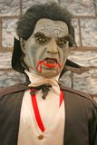 Dracula sangrento fotografia de stock royalty free