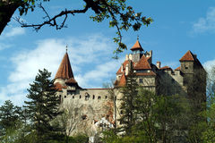 Dracula-Schloss Stockbild