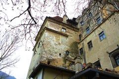 Dracula-Schloss lizenzfreie stockbilder