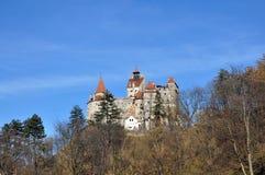 Dracula slott Royaltyfri Fotografi