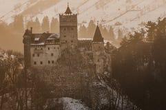 Dracula slott Royaltyfri Bild