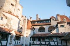 Dracula slott i Rumänien Arkivbild