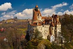 Dracula slott i Rumänien Arkivfoton