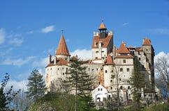 Dracula slott - klislott, Rumänien royaltyfri fotografi