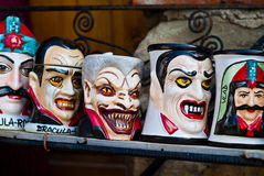 Dracula souvenir mugs Royalty Free Stock Image