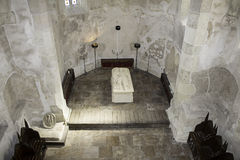 Dracula tomb stone Stock Photos