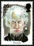 Dracula UK znaczek pocztowy zdjęcia stock