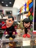 Dracula und Mavis Stockfotografie