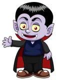 Dracula van het beeldverhaal Stock Foto's
