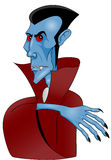 Dracula. Vector illustration of vampire Dracula Royalty Free Stock Images