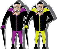 Dracula vector Stock Images