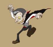 Dracula vektor Monster i allhelgonaaftonnatt Fotografering för Bildbyråer