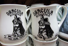 Dracula or Vlad Tepes? Royalty Free Stock Photography