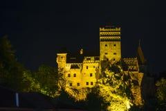 Dracula& x27; s城堡 免版税库存照片