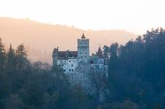 Draculakasteel Royalty-vrije Stock Afbeeldingen