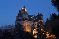 Draculas华美的庄园 库存照片