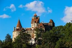 Draculas城堡 免版税库存照片
