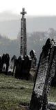 Draculas Friedhof lizenzfreie stockbilder